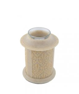 filigree-kandelaar-mini-urn-naturel-polyresin