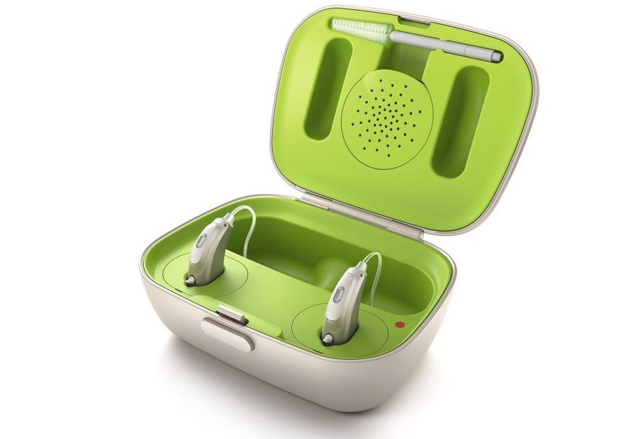 Batterijen van een gehoorapparaat